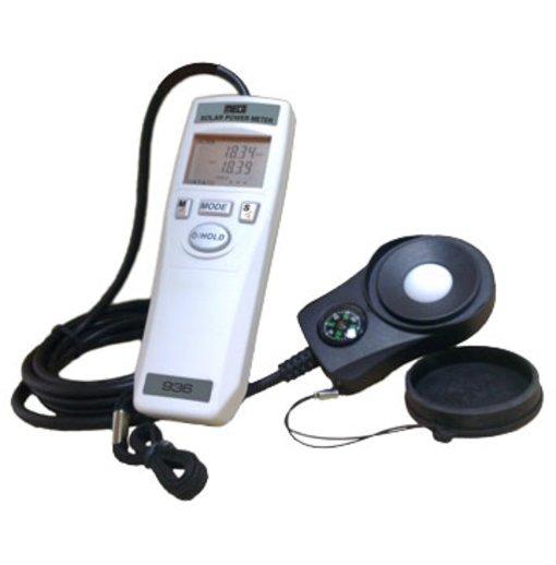Đồng hồ đo pin năng lượng mặt trời Meco 936