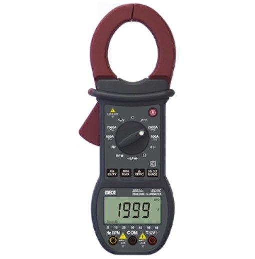 Ampe kìm Meco 2003A+(đo dòng 2000A DC/AC TRMS - Tự động điều chỉnh dải đo)