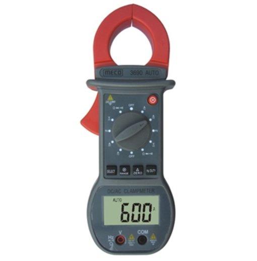 Ampe kìm meco 3690 auto (đo dòng 600A DC/AC TRMS-Tự động điều chỉnh dải)