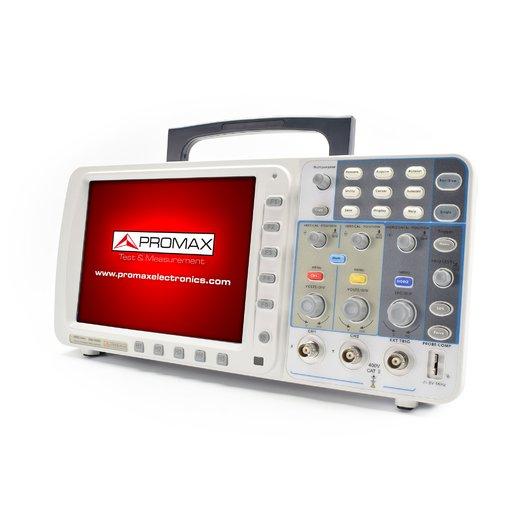 Máy hiện sóng Promax OD-620 (3 kênh, băng thông 200MHz, tốc độ mẫu 2GS/s)