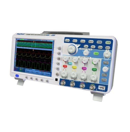 Máy hiện sóng PeakTech 1295 (Băng tần 100 MHz/4Channel, tốc độ lấy mẫu 1GSa/s)