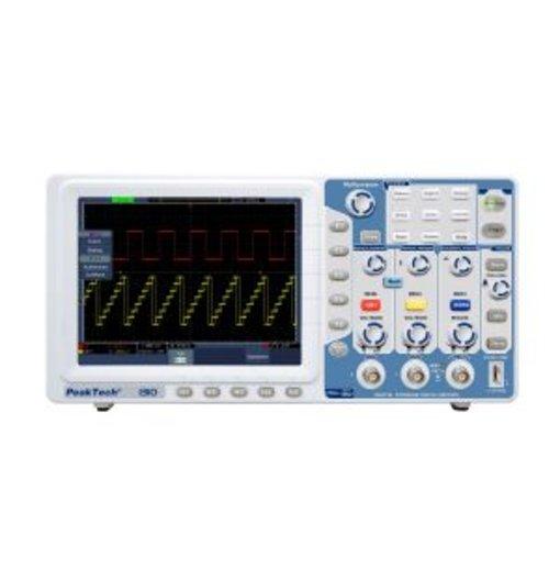 Máy hiện sóng PeakTech 1310 (Băng tần 125 MHz/2Channel, tốc độ lấy mẫu 1GSa/s)