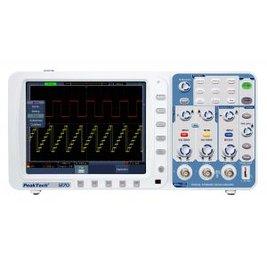 Máy hiện sóng PeakTech 1270 (Băng tần 300 MHz/2Channel, tốc độ lấy mẫu 2,5GSa/s)