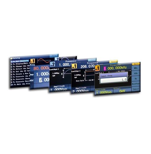 Máy phát xung tùy ý PeakTech 4125 (2 channel, 1μHz - 25 MHz)