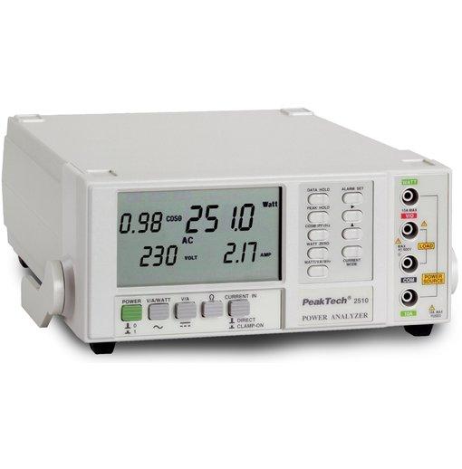Máy phân tích chất lượng điện, giao diện RS-232C độ phân giải 0,1W