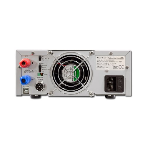 Nguồn lập trình DC PeakTech 1570 (output: 1 - 16V/0 - 60A)