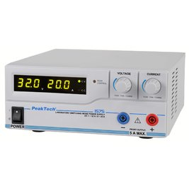 Nguồn lập trình DC PeakTech 1575 (output: 1 - 32V/0 - 20A)