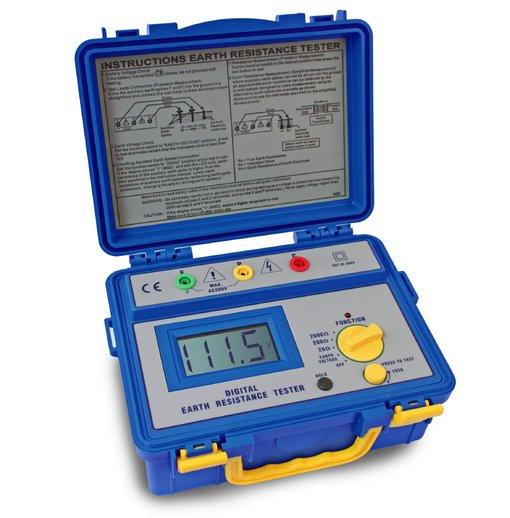 Máy đo điện trở đất PeakTech 1115