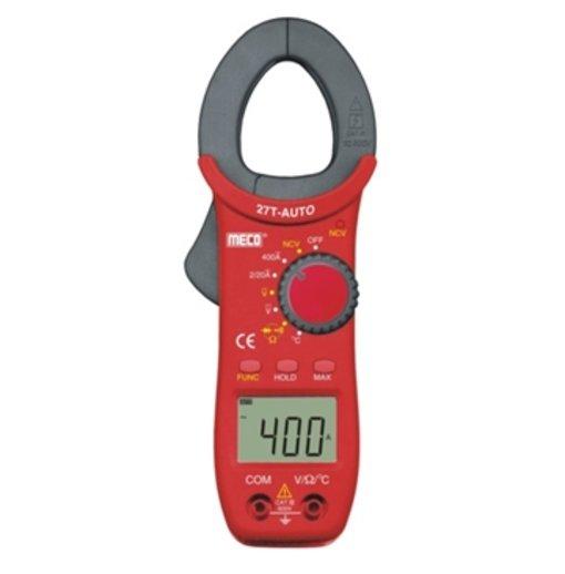 Ampe kìm Meco 27T Auto (đo dòng 400A AC - Tự động điều chỉnh dải đo)
