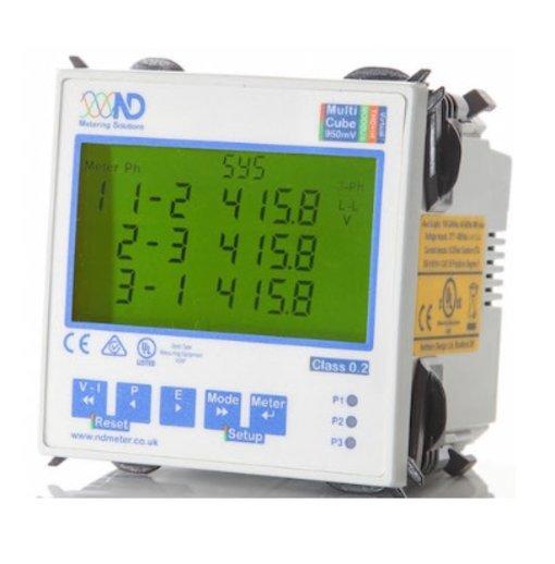 Đồng hồ đo điện đa năng Cube950 (Pulse Output, MODBUS, IP-Ethernet)