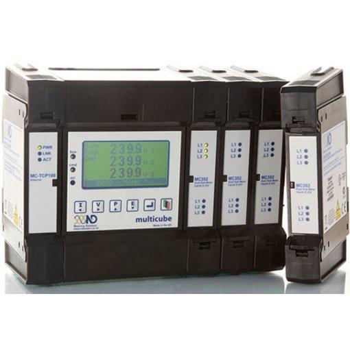 Đồng hồ đo điện đa năng Multicube moduler (Pulse Output, MODBUS, IP-Ethernet)