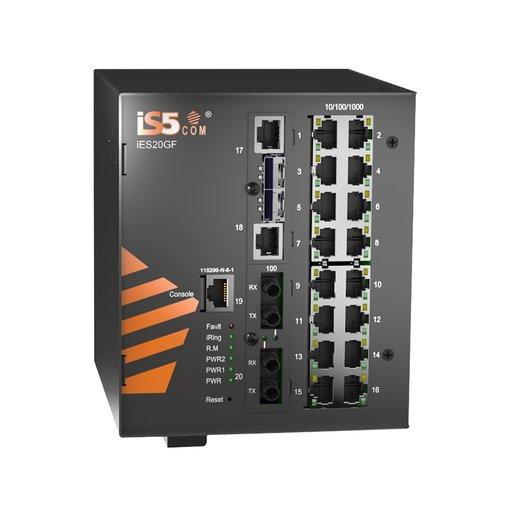 Switch công nghiệp Chuẩn IEC61850 - Model:iES20GF