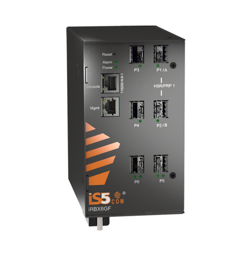 Switch công nghiệp Chuẩn IEC61850 - Model:iRBX6GF